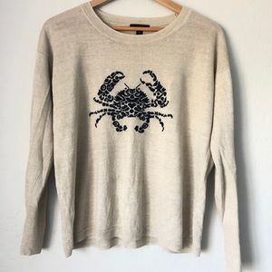 J.Crew light linen sweater